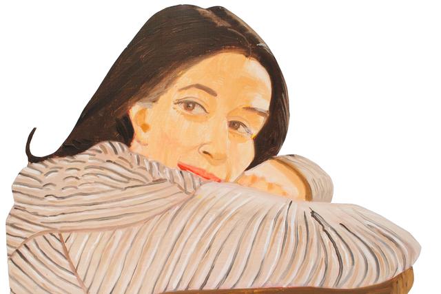 , 'Ada in Striped Dress,' 1981, Waterhouse & Dodd