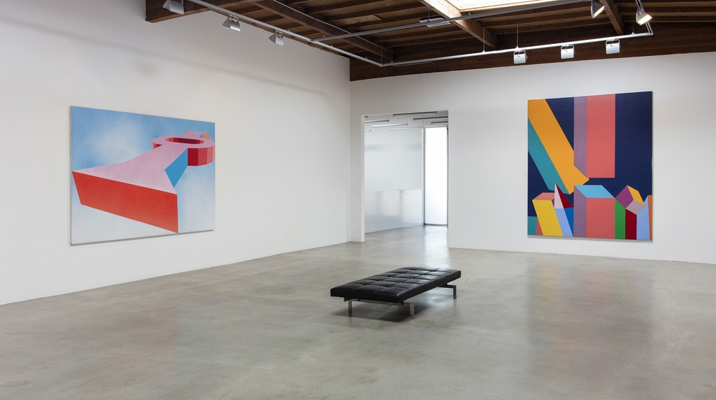 Miriam Schapiro, 2017, Installation view, Honor Fraser Gallery, Los Angeles, CA