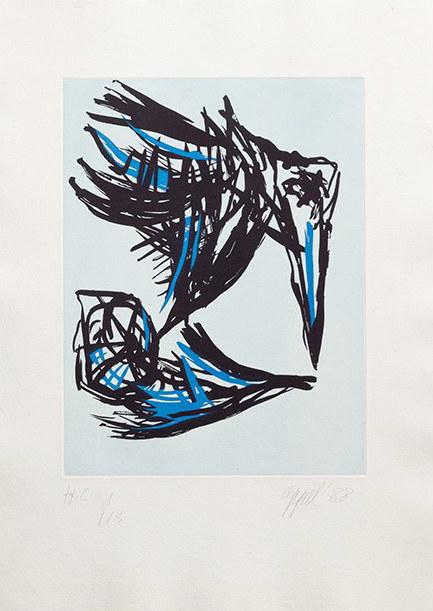 Karel Appel, 'Los Pájaros', 1972, Kunzt Gallery