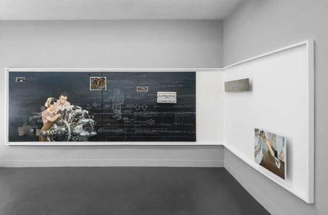 , 'L'Ouvrière,' 2016, Galerie Sator