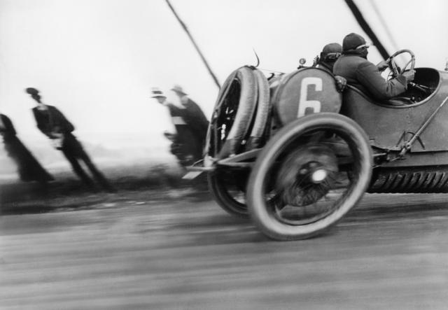Jacques Henri Lartigue, 'Grand Prix de l'ACF, automobile Delage, Circuit de Dieppe', 1912, °CLAIRbyKahn Galerie