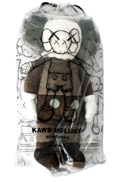 "KAWS, 'HOLIDAY HONG KONG LIMITED 20"" PLUSH (Brown)', 2019, Silverback Gallery"