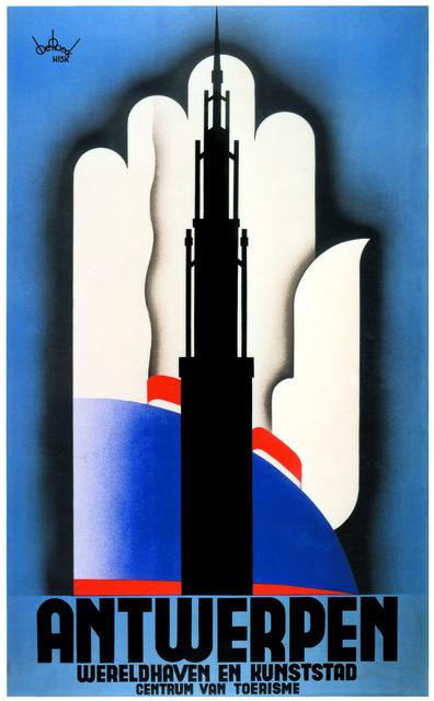 , 'Antwerpen,' 1935, Musée d'Ixelles