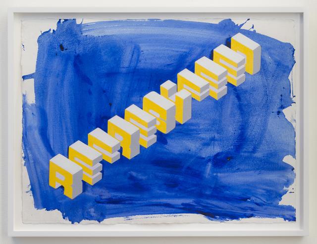 , 'REFRESH FEED,' 2016, Joshua Liner Gallery