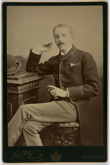 , ' Ralph Wormeley Curtis,' ca. 1884, Isabella Stewart Gardner Museum
