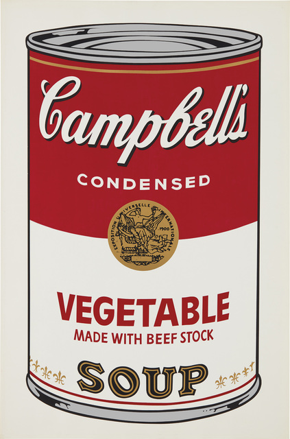 Andy Warhol, 'Vegetable, from Campbell's Soup I', 1968, Phillips