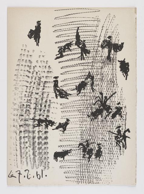 , 'Toros y Toreros,' 1961, Frederick Mulder