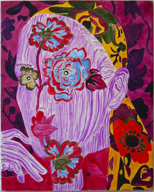 , 'Self-Portrait Grandma's Scarf ,' 2016, Gaa Gallery