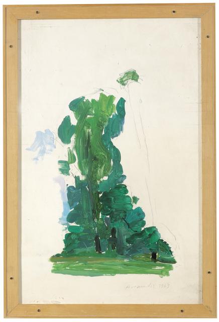 , 'Landscape in the Viennese Prater,' 1963, Galerie Bei Der Albertina Zetter