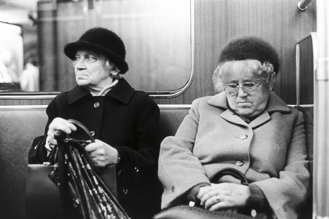 , 'Berlin West, U-Bahn,' 1986, Collection Regard