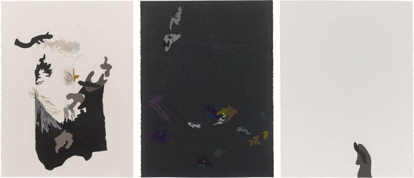 Jim Hodges, 'The Color Was Leaving; OK In The Dark; Single Solitary,' 2006, Sotheby's: Contemporary Art Day Auction