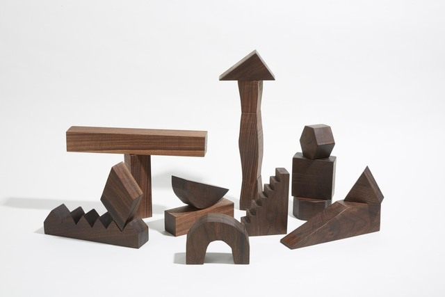 , 'SCULPTURAL BUILDING BLOCKS,' 2015, kinder MODERN