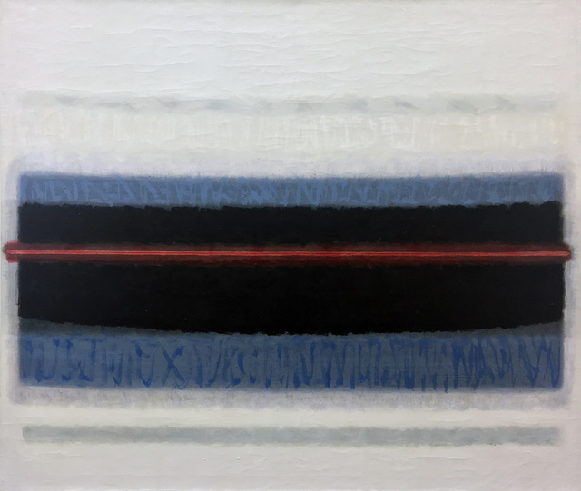 , 'Red Line Horizon,' 1966, 203 Fine Art