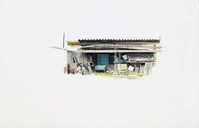 , 'Cobertizo con cañas,' , Sala Parés