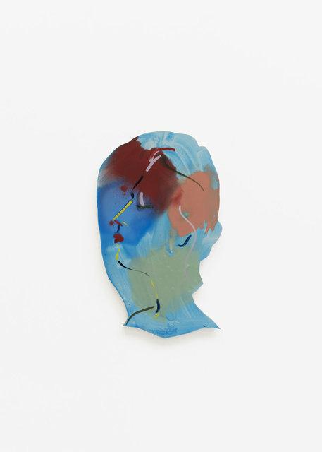 , 'Double Portrait (blue one on left),' 2018, CFHILL