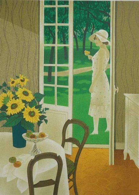 , 'Woman In An Interior,' , The Loft Fine Art
