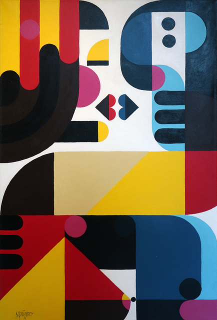 , 'Baiser,' 2017, Galerie Christiane Vallé