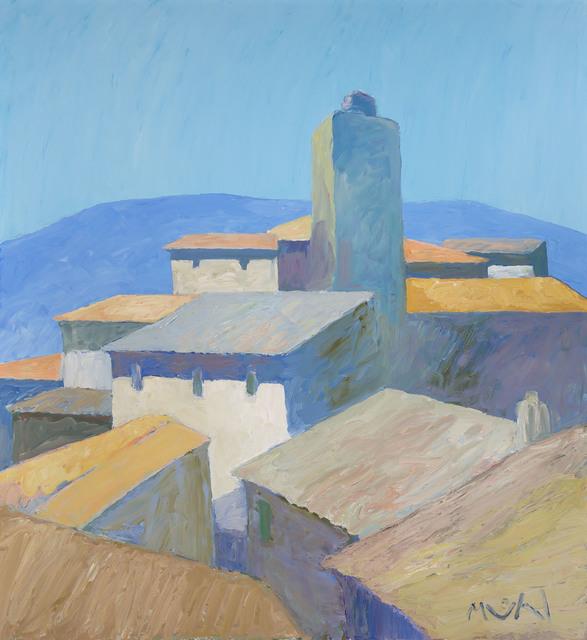 Roger Muhl, 'Village', 2002, Painting, Oil on canvas, Doyle