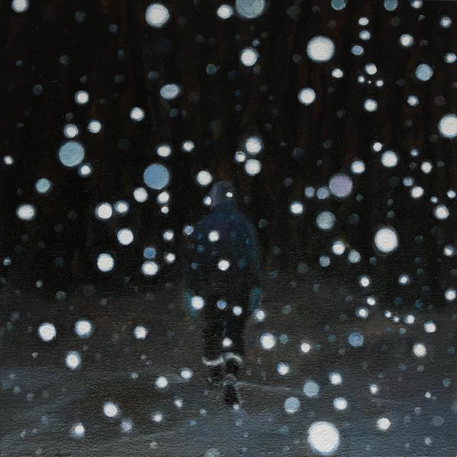 , 'Snow Walk,' 2017, Abbozzo Gallery