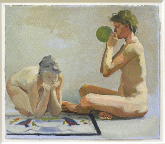 , 'Two Women With Balloon,' 1986, Barney Savage Gallery