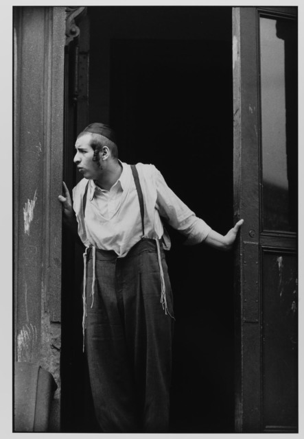 , 'Hasidic Man at Door, Williamsburg, Brooklyn, NYC ,' 1954, Gallery 270