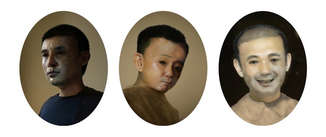 , 'Father & Son: The Artist Dream,' 2014, GALERIE QUYNH