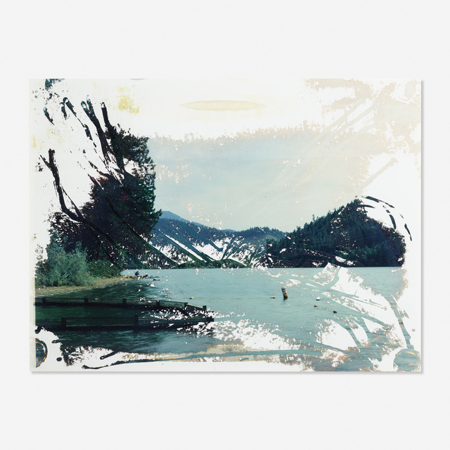 Matthew Brandt, 'Lake Selmac OR 5 from the Lakes and Reservoirs series', 2009, Print, Chromogenic print soaked in Lake Selmac water, Rago/Wright
