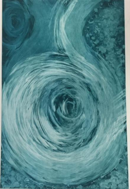 MARGARET MARA, 'Tranquil Turbulence', 2017, Print, Etching on Paper, Black Square Arts
