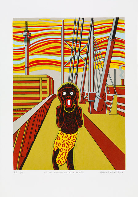 , 'On The Nelson Mandela Bridge,' 2017, HUBERTY & BREYNE GALLERY