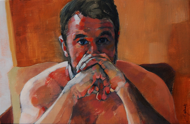 , 'Pondering,' , Bowersock Gallery
