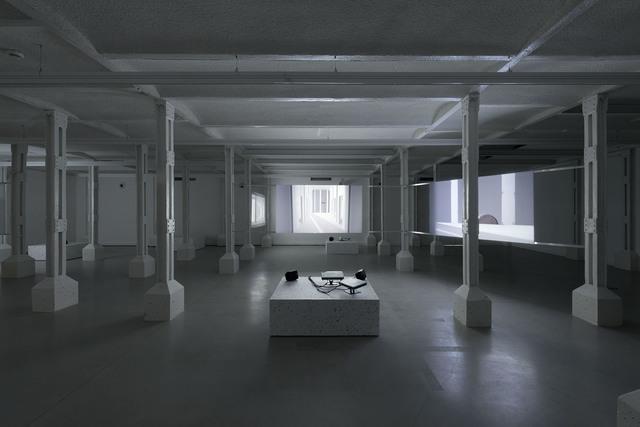 , ''Four Works' installation view: 'Swarm',' 2015, TRAFO
