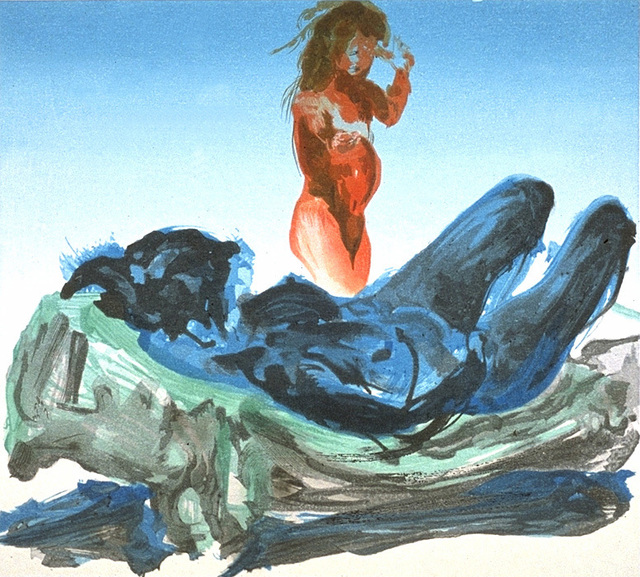 Eric Fischl, 'Untitled', 1988, Print, Color woodcut, Crown Point Press