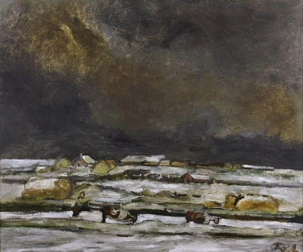 Sheila Fell, 'Solway Plain Under Snow', Castlegate House Gallery
