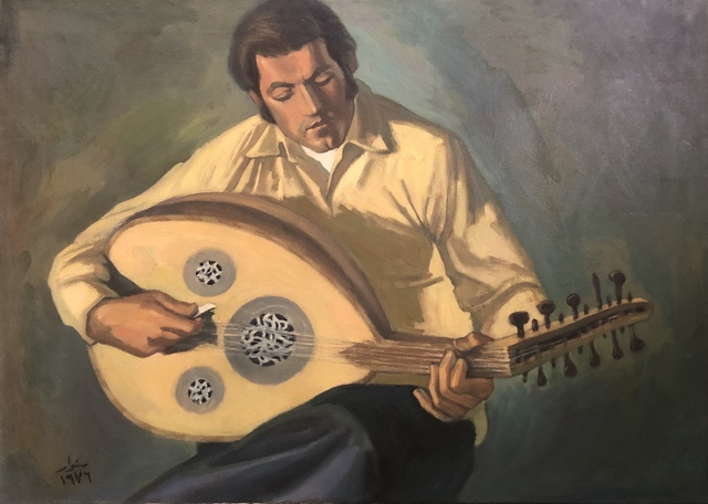 , 'Oud Player,' 1976, Gallery One