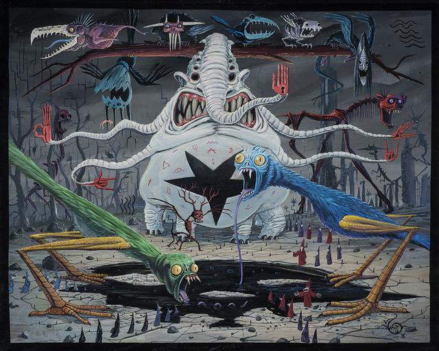 , 'Suckulants,' 2018, Spoke Art