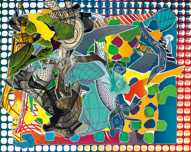 Frank Stella, 'East Euralia, from Imaginary Places', 1995, Seoul Auction