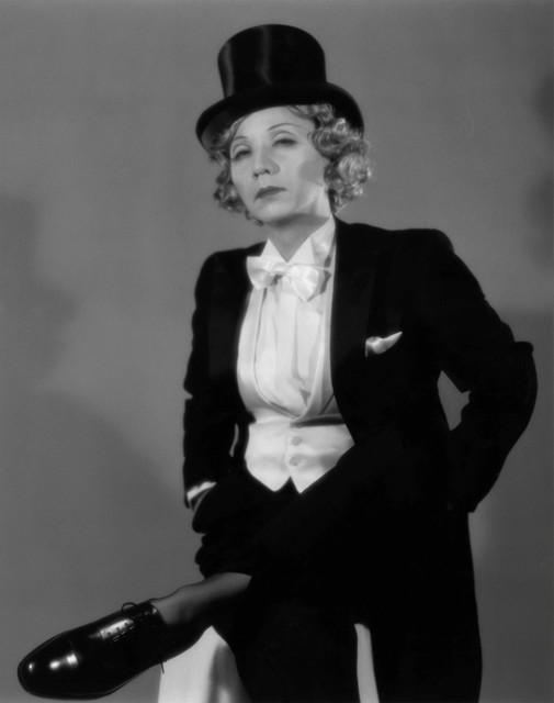 , 'Self-Portrait as Marlene Dietrich,' 1995, Laurence Miller Gallery