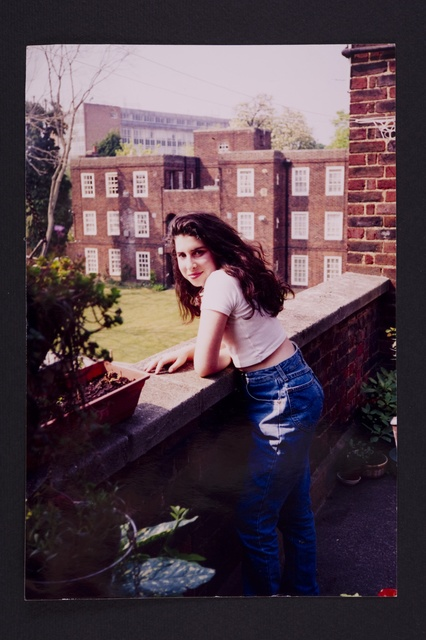, 'A young Amy outside her Grandma's flat in Southgate,' , Contemporary Jewish Museum
