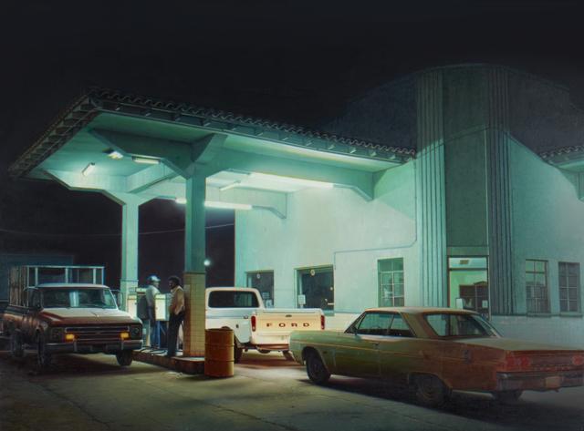 , 'Pemex Station, Agua Prieta,' 2016, Louis K. Meisel Gallery