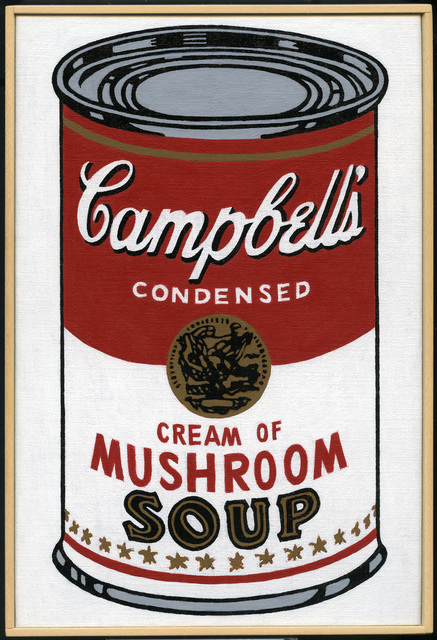 , 'Andy Warhol,'Large Campbell's Soup Can, Cream of Mushroom,' 1964,' 2008 – 2009, Castelli Gallery