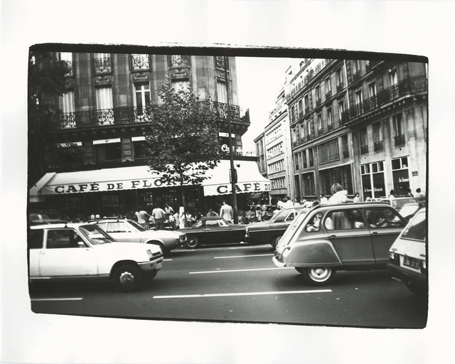 Andy Warhol, 'Cafe de Flore', 1981, Photography, Gelatin silver print, Hedges Projects