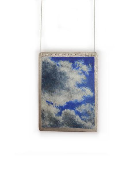 , 'Moments of Sky Brooch II,' 2016, Galerie Beyond
