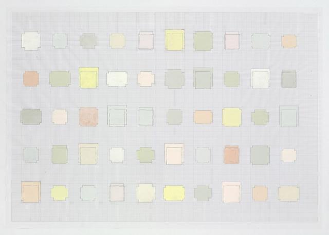 , '50 Spaces,' 2010, Gagosian