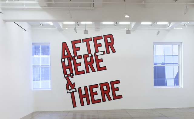 , 'AFTER HERE & THERE,' 2014, Marian Goodman Gallery