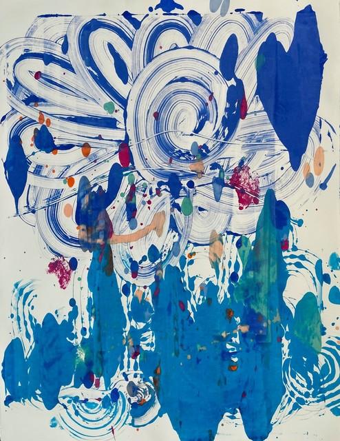 Catherine Howe, 'Monotype no. 4', 2020, Print, Acrylic and Soy based inks on Single Sheets Stonehenge, Maune Contemporary