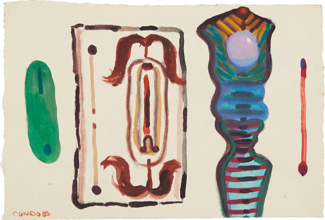 George Condo, 'Untitled', 1983, Phillips
