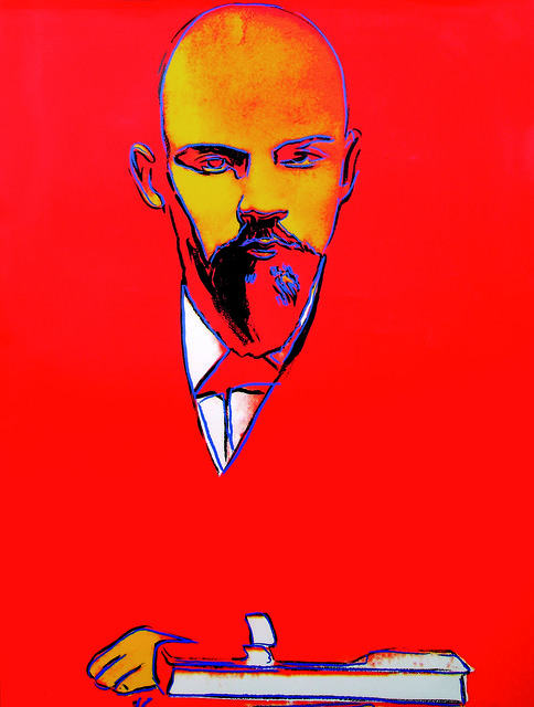 , 'Red Lenin,' 1987, ARCHEUS/POST-MODERN