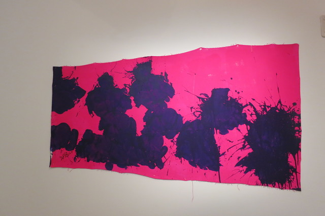 , 'Blue on Magenta,' 2016, Deborah Colton Gallery