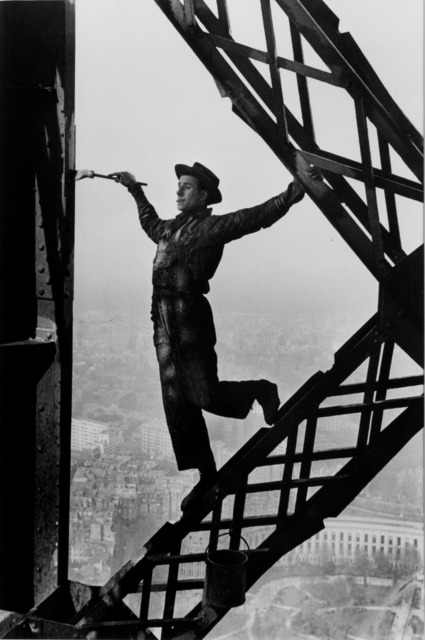 , 'Painter on the Eiffel Tower,' 1953, Vision Neil Folberg Gallery