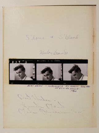 , 'Marlon Brando,' 1961, Staley-Wise Gallery